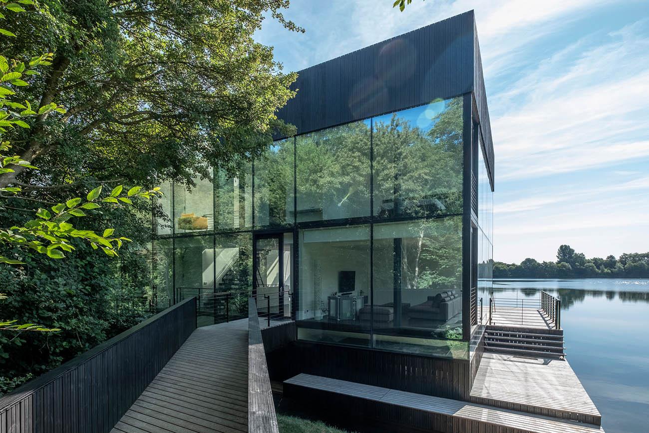 Glazen Villa Lechlade - Exterieur 2 - Blue Sky Images