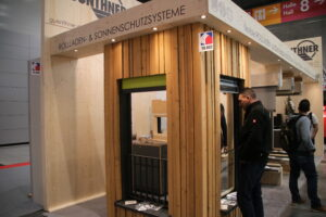 Rolluiken die in je houten fassade kunnen worden gebouwd.