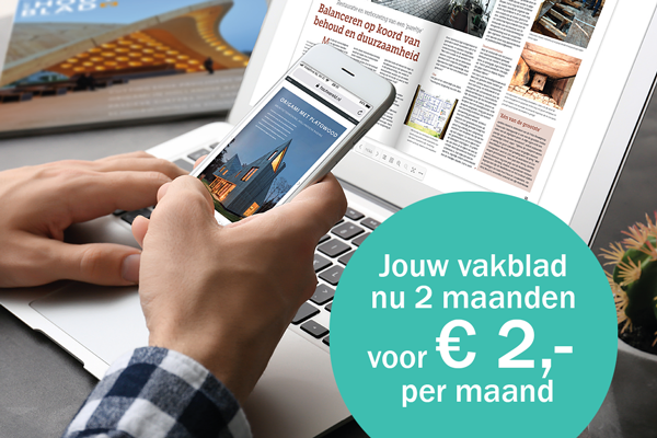 abonnement voor 2 euro per maand