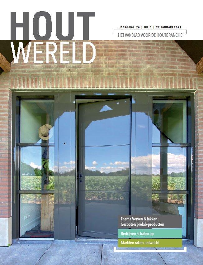 Cover Houtwereld nr 1 (22 januari 2021)